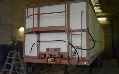 Metallisatie Vanparys - VOORBEREIDINGEN SCHILDEREN